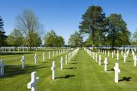 American military cemetery at Normandy