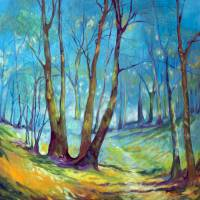 INTO the MYSTIC LANDSCAPE by Marcia Baldwin