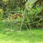 """""""Swing Set and Tropical Plants"""" by rhamm"""
