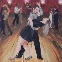 Valentine Dance Art Prints & Posters by Ruth Driedger