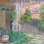 """Lost Mountain Winery"" by LauraLeeArt"