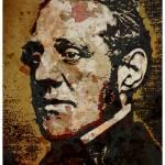 """George Thompson (abolitionist)-Colour"" by thegriffinpassant"