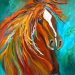 """Roan Stallion"" by jennylee"