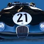 """""""Vintage Jaguar Racecar"""" by FatKatPhotography"""