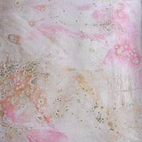 11. v2 Pink and Cream Texture Glaze Painting