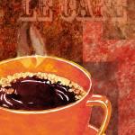 """Le Cafe Decorative Painting by Irina Sztukowski"" by IrinaSztukowski"