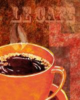 Le Cafe Decorative Painting by Irina Sztukowski