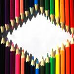 """Diamond Shaped Colored Pencils"" by rhamm"