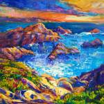 """Ocean and cliffs"" by boyan"