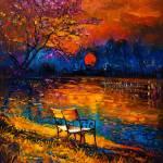 """Autumn at sunset"" by boyan"