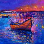 """""""Boats and the city"""" by boyan"""