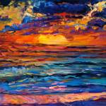 """""""Colorful sunset"""" by boyan"""