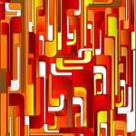"""""""maze of life -2- red orange"""" by lindabrenyah"""