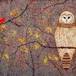 """Barred Owl; original painting"" by LimeCreekArt"