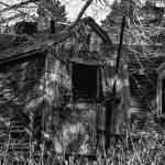 """Ramshackle old abandoned building"" by memoriesoflove"