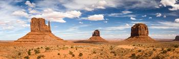Monument Valley Daytime Panoramic 3x1