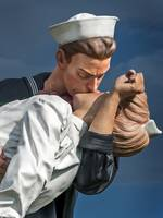 Close-up Of Kiss From Unconditional Surrender Scu