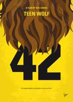 No607 My Teen Wolf minimal movie poster