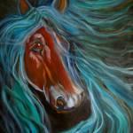 """Gypsy Vanner 1"" by jennylee"
