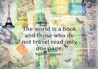The world is a book TRAVEL QUOTE