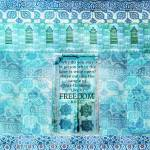 """Rumi Freedom quote"" by goldenslipper"