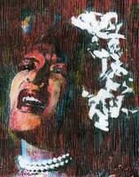 BILLIE HOLIDAY Portrait Contemporary Art JAZZ