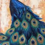 """Peacock Cascade"" by LindaSMarino"