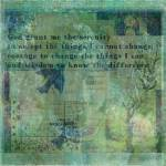 """Serenity Prayer"" by goldenslipper"