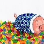 """""""Rainbow_Glass_Pig"""" by francisfung"""