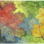 """Colorful Leaves"" by EMBlairArtwork"
