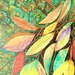 """""""Looking Through Leaves"""" by EMBlairArtwork"""