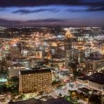 """""""San Antonio Skyline"""" by eyeates"""