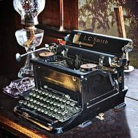 Typewriter in Farm Office (2)
