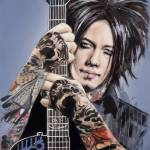 """DJ Ashba"" by MelanieD"