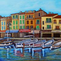 Colours of Cassis Art Prints & Posters by Lisa Lorenz