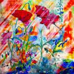 """""""Flowers are Where Happiness Lives by Ginette"""" by GinetteCallaway"""