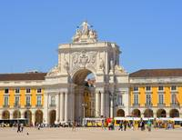 Justice Square in Lisboa