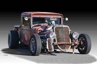 1933 Ford PU Rat Rod II