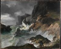 Shipwreck Horac, Horace Vernet, Oil On Canvas, Rom
