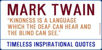 Timeless Inspirational Quotes -MARK-TWAIN