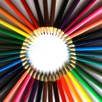 """Circle of Colored Pencils"" by rhamm"