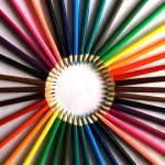 """""""Circle of Pencil Crayons"""" by rhamm"""