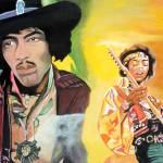 """""""Jimmy Hendrix"""" by PatrickHuntsGallery"""
