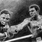 """Thrilla in Manilla Pencil Drawing"" by daverives"