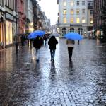 """Wet Evening on Heidelberg Cobblestone"" by tinkerhess"