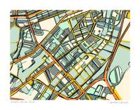 South End Boston 11x14 w border w sig and loc