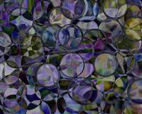 Purple Iridescent Abstract