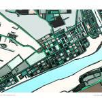 """Beaver 16x20 w border"" by carlandcartography"