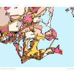 """Old Saybrook 16x20 w sig and loc"" by carlandcartography"