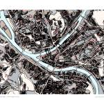"""""""Pittsburgh 16x20 w sig and loc"""" by carlandcartography"""